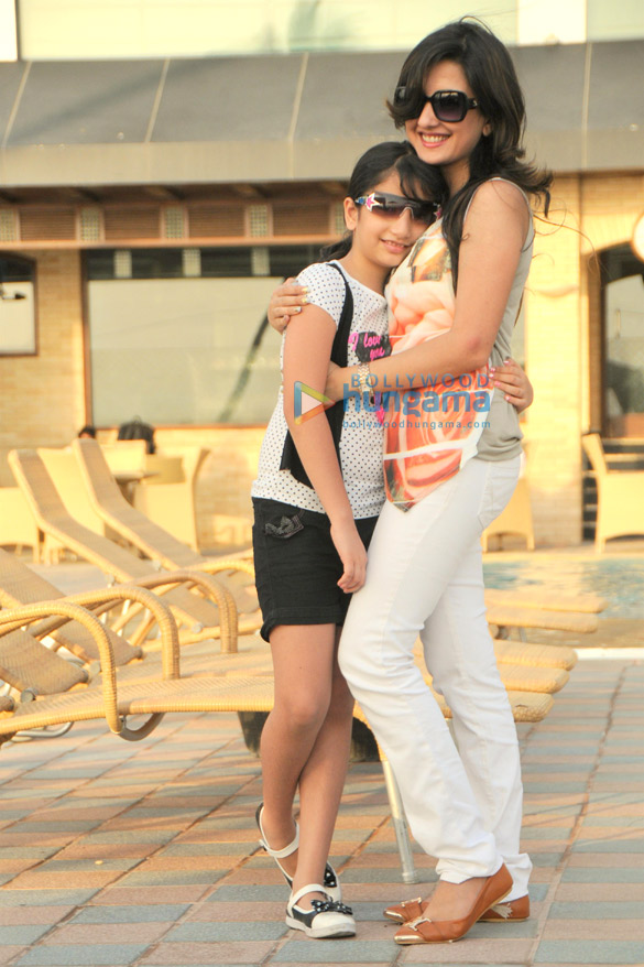 Amy Billimoria steps out with her daughter Ariyanne on Mother's Day
