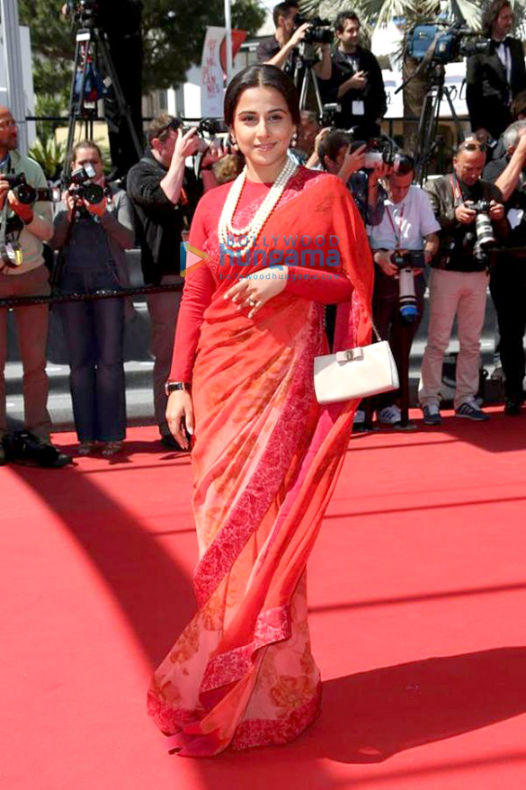 Vidya at the premiere of 'Un Chateau En Italie' at the Cannes Film Festival 2013