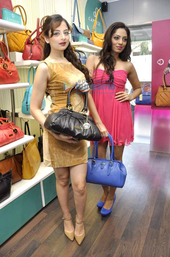 Miss India promotes Caprese bags