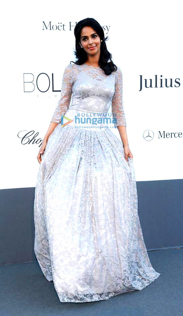Mallika Sherawat at the amfAR Gala at the Cannes Film Festival 2013