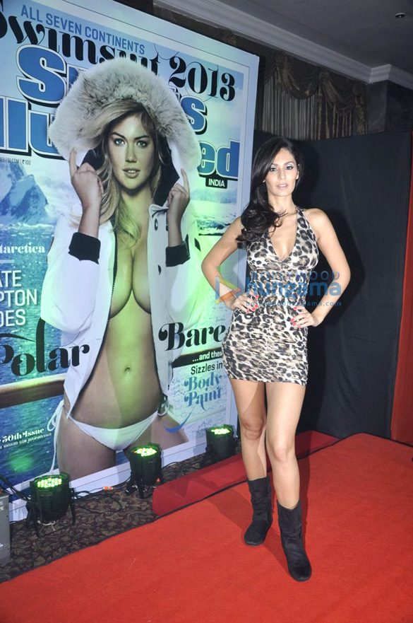 Bruna walks for Sports Illustrated bikini issue launch