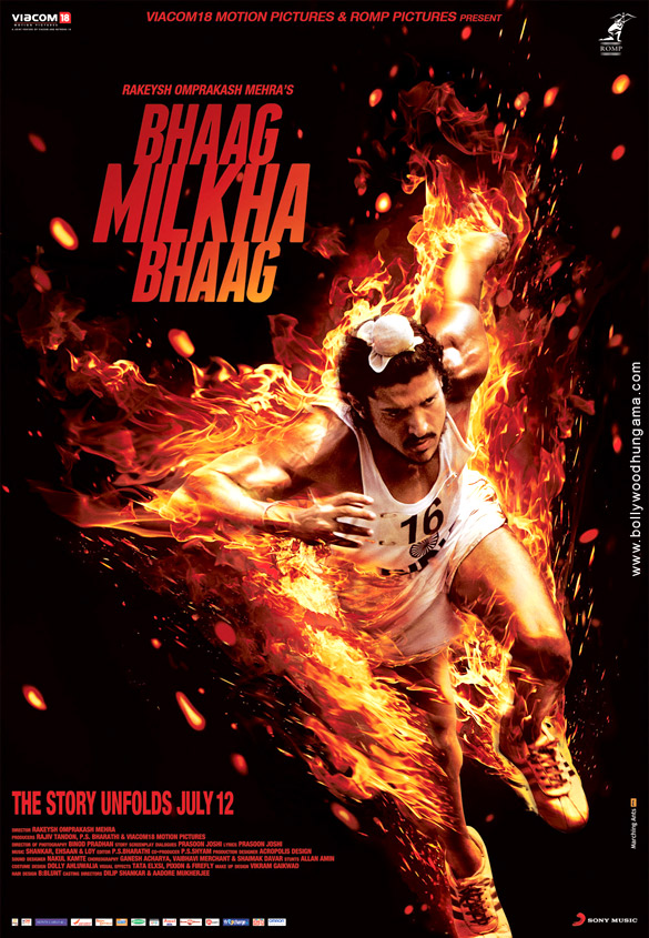 First Look Of The Movie Bhaag Milkha Bhaag