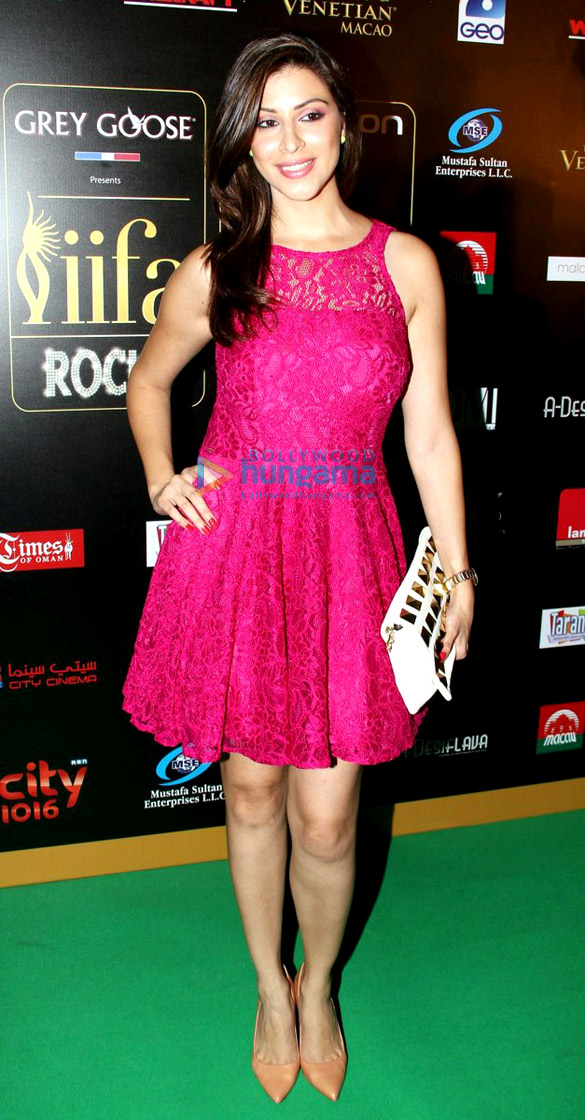 Green carpet of IIFA Awards 2013
