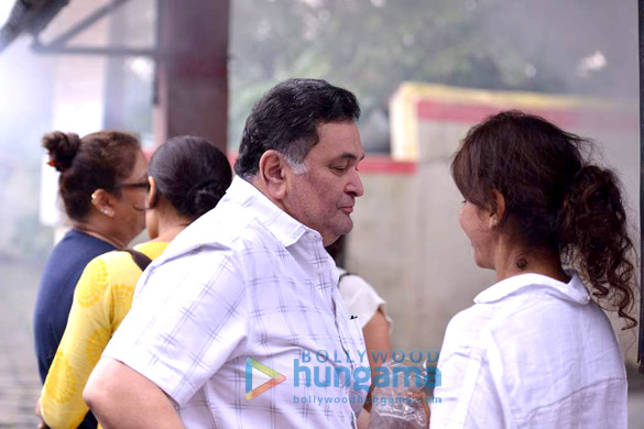Celebs at the funeral of Anita Raj's father