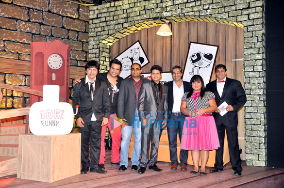 Sudesh Lehri, Krishna Abhishek, Sandeep Menon, Siddharth Sagar, Gautam Anand, Bharti Singh, Cyrus Broacha