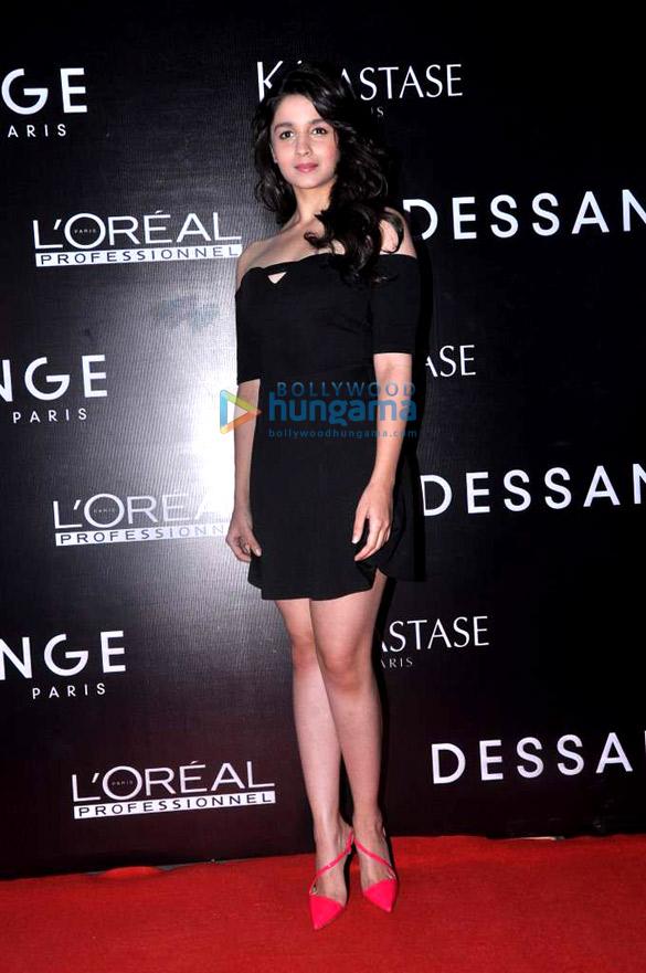 Alia & Sidharth Malhotra at the launch of 'Dessange' beauty salon