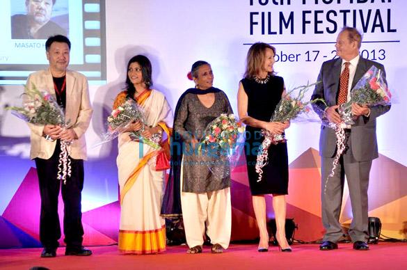 Masato Harada, Konkona Sen Sharma, Deepa Mehta, Bruce Beresford
