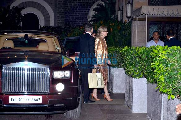 Sharon Stone snapped in Mumbai
