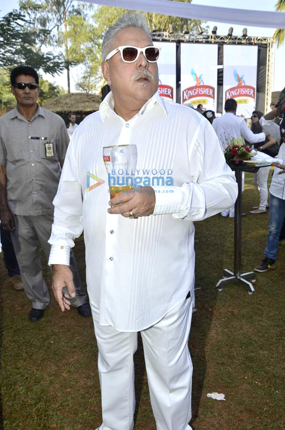 Launch of Kingfisher Calendar 2014 by Vijay Mallya