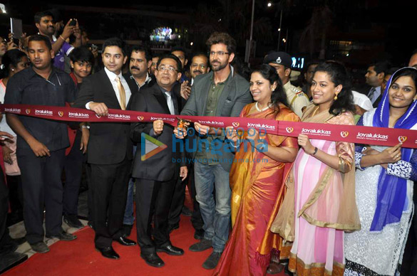Hrithik launches Joyalukkas world's favourite jeweller showroom