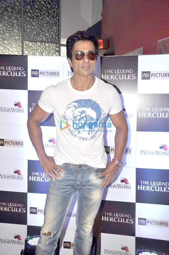 Sonu Sood launches the trailer of the film 'The Legend Of Hercules'