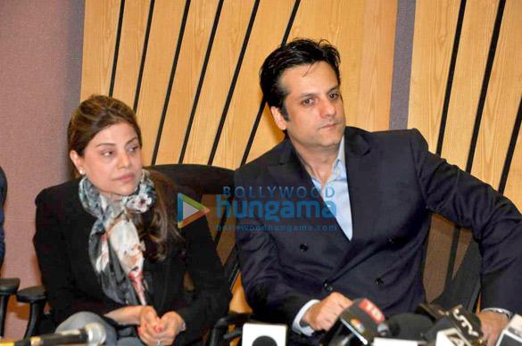 Sapna Mukherjee, Fardeen Khan