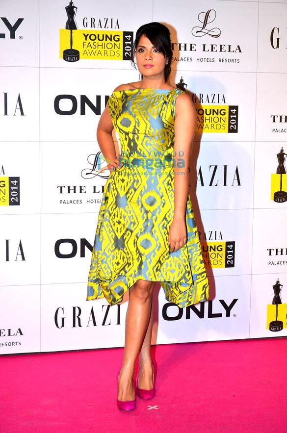 Sonam, Shraddha & Aditi grace the Grazia Young Fashion Awards 2014