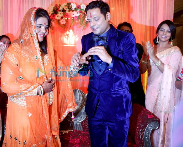 Neetu Chandra's brother Abhishek's engagement ceremony
