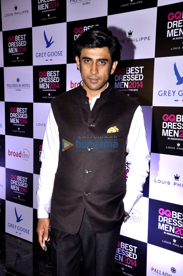 Celebs grace the 'GQ Best Dressed Men 2014' awards