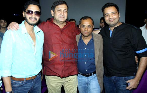 Shreyas Talpade, Mahesh Manjrekar, Vivek Rangachari, Nikhil Mahajan