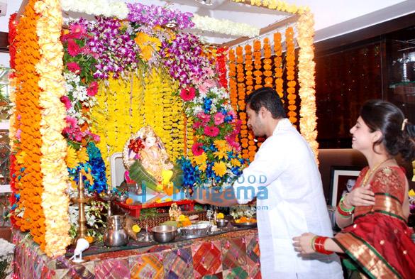 Shreyas Talpade celebrates Ganesh Chaturthi