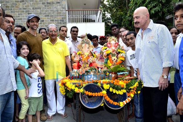 Hrithik Roshan, J Om Prakash, Rakesh Roshan