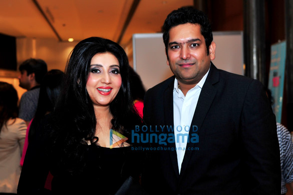 Launch of apparel line MUAAK at the India Fashion Week, Dubai