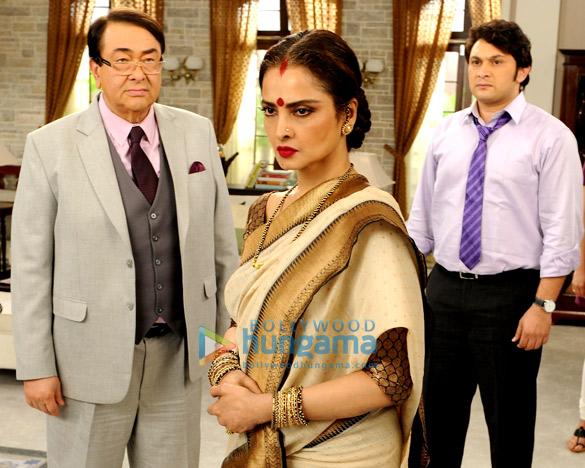 Randhir Kapoor, Rekha