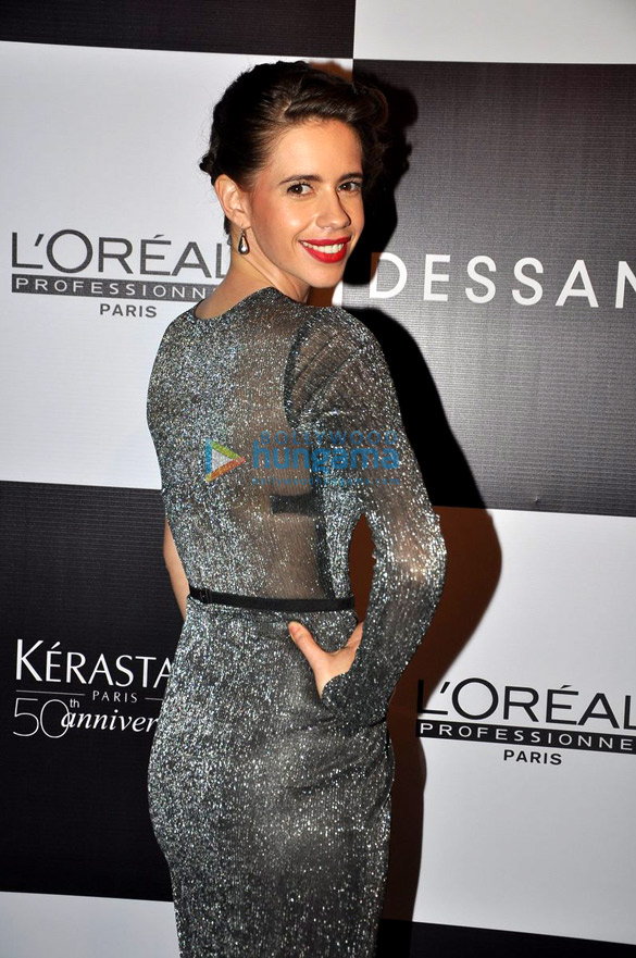 Kalki Koechlin at the launch of Dessange's new look