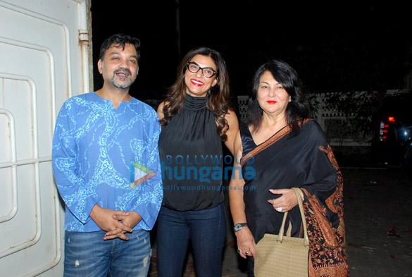Sushmita Sen graces the screening of Bengali film 'Chotushkone' at Sunny Super Sound