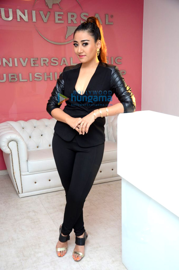 Singer Ann Mitchai at Bollywood album launch