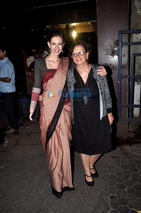 Dia Mirza, Kalki Koechlin & Konkona Sen Sharma snapped at Prithvi Fest