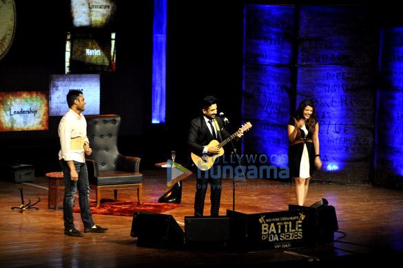Akshay Kumar & Twinkle Khanna at Vir Das' 'Battle of Da Sexes' show