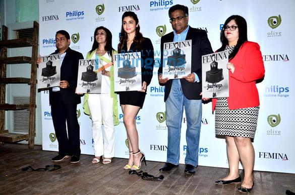Alia Bhatt launches Femina magazine's 55th anniversary issue
