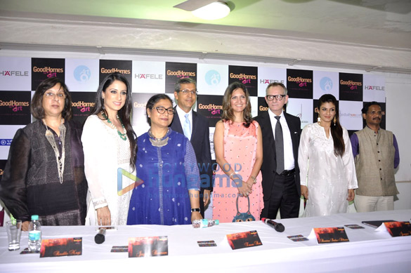 Raveena Tandon at the announcement of the third edition of 'GoodHomes For Art'