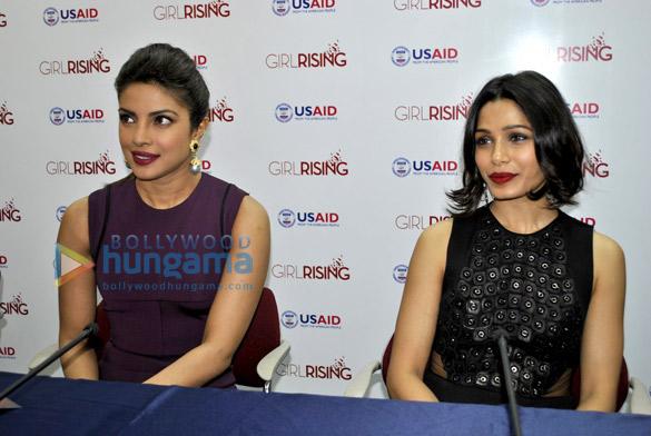 Priyanka Chopra, Freida Pinto