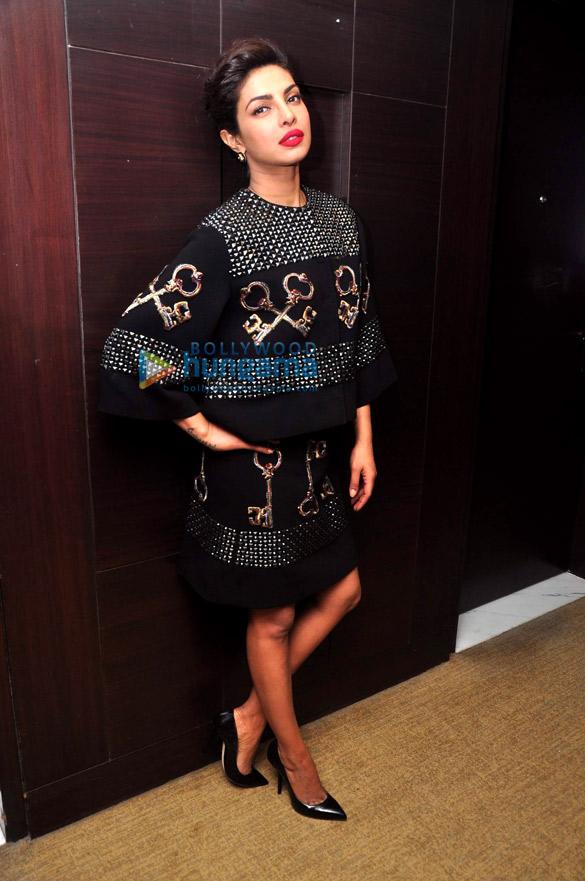 Priyanka Chopra graces the press conference of the '60th Britannia Filmfare Awards 2014′