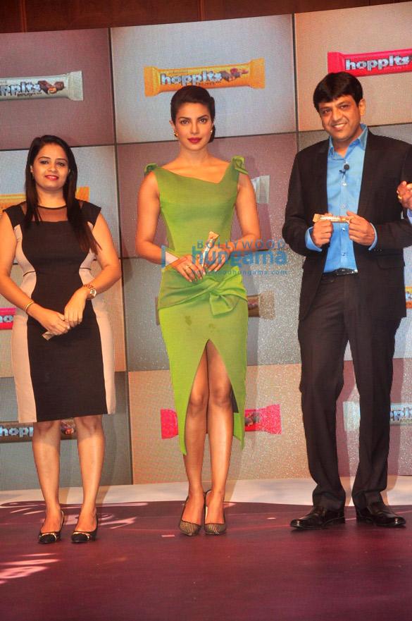 Priyanka Chopra at 'Schmitten Hoppits Chocolate' launch