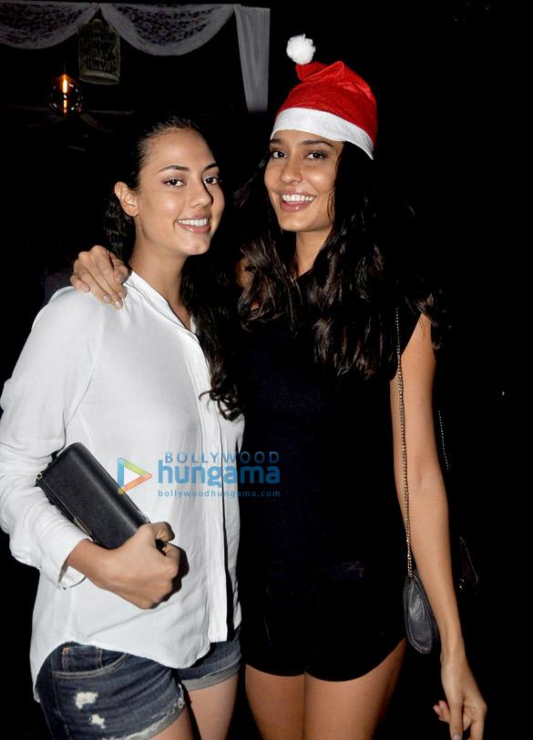 Lisa Haydon & Malika Haydon celebrate Christmas at 'Nido'
