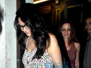 Preity Zinta, Sussanne Roshan