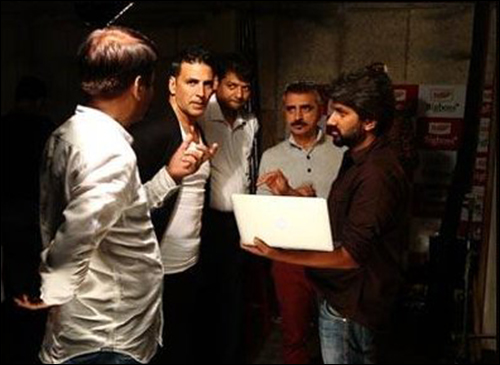 Check out: Akshay Kumar shoots for Dollar brand