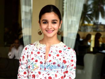 Alia Bhatt snapped post media interactions at JW Marriott