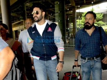 Amitabh Bachchan, Zinedine Zidane & others snapped at the international airport