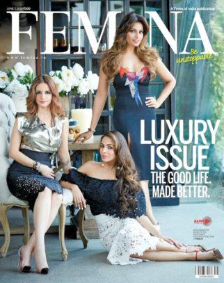 Sussanne Khan, Malaika Arora Khan, Bipasha Basu On The Cover Of Femina