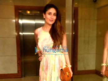 Kareena Kapoor Khan snapped outside her house in Bandra