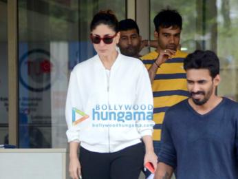 Kareena Kapoor Khan visits Saif Ali Khan after his thumb surgery