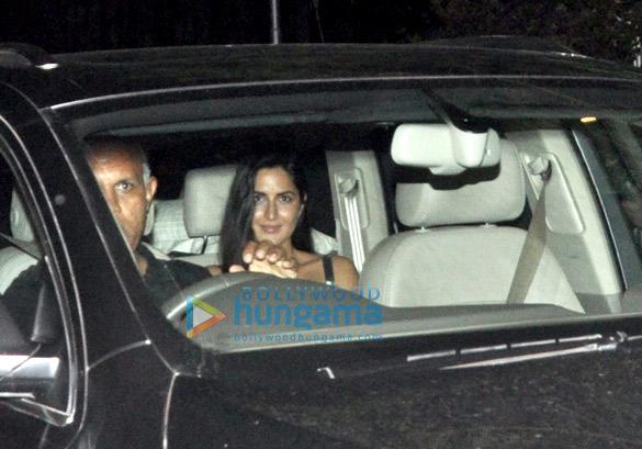 Katrina Kaif, Alia Bhatt & Aditya Roy Kapur snapped post get together at Aarti Shetty's house
