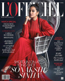 Sonakshi Sinha On The Cover Of L'Officiel