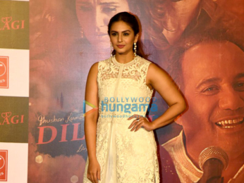 Vidyut Jamwal & Huma Qureshi at the launch of music video 'Dillagi'