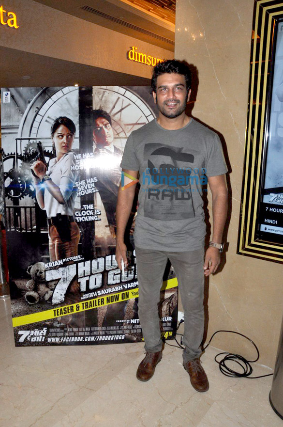 Premiere of '7 Hours To Go'