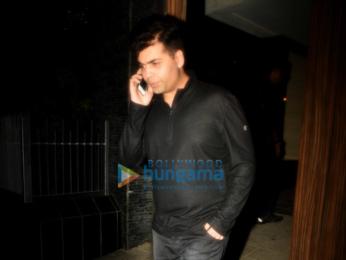 Ranbir Kapoor, Karan Johar & Ayan Mukerji snapped post get-together at Aamir Khan's house