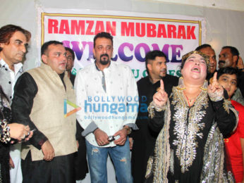 Sanjay Dutt graces an Iftaar party in Bandra