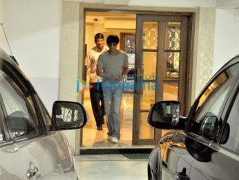 Shah Rukh Khan snapped in Bandra