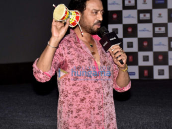 Launch of the song 'Dama Dam' from the film 'Madaari'